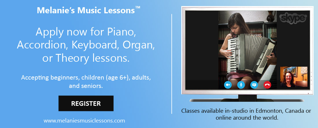 Melanies Music Lessons is welcoming you to apply now for music lessons.